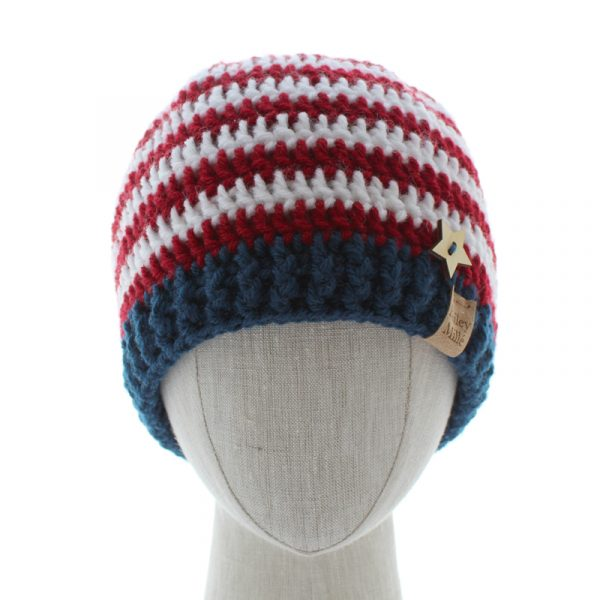 crochet-americana-beanie-pattern