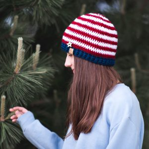 americana-crochet-beanie-pattern
