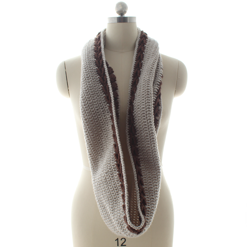 banded.arrow.infinity.scarf