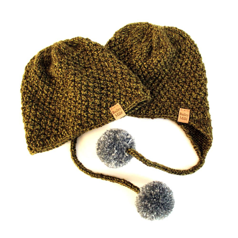 Noe Beanie & Hat Knitting Pattern